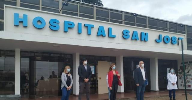 Cambio de autoridades en el Hospital San José de Pergamino