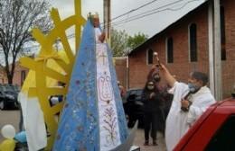 La imagen peregrina de la Virgen de Luján visitará Rafael Obligado