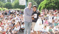 Particip� el intendente Mart�n Caso y actu� el payaso Fideo Fino.