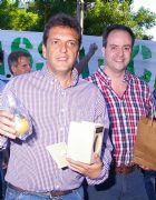 Sergio Massa y Mart�n Caso.